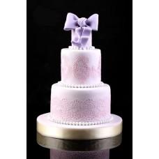 """Свадебный торт """"Лиловая вуаль"""""""