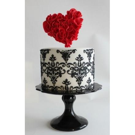 "Торт ""Ажурное сердце"""