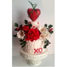 """Торт на День Святого Валентина """"Я только твой"""""""