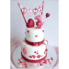 "Торт на День Святого Валентина ""Признание"""