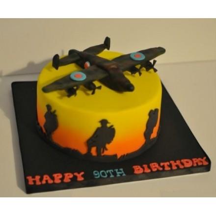 """Торт """"Воздушная оборона"""""""