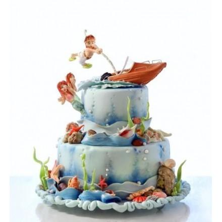 """Торт """"Морское приключение"""""""