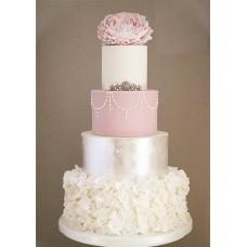"""Свадебный торт """"Изысканная леди"""""""