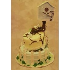 """Свадебный торт """"Рай в шалаше"""""""