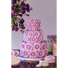 """Свадебный торт """"Фиалка"""""""