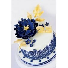 """Свадебный торт """"Лазурь"""""""