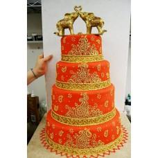 """Свадебный торт """"Восточный мотив"""""""