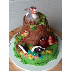 """Детский торт """"Верные друзья"""""""
