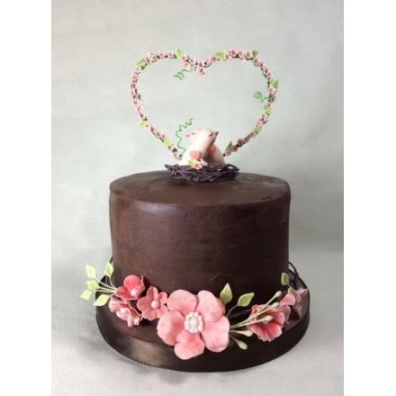 """Свадебный торт """"Красивая любовь"""""""