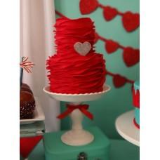"""Торт на свадьбу """"Огненное сердце"""""""