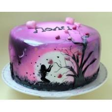 """Свадебный торт """"Волшебное дерево"""""""
