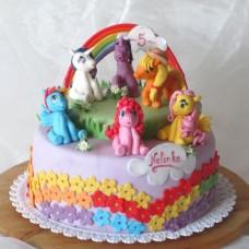 """Детский торт """"Little Pony"""""""