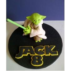 "Детский торт ""Мастер Йода"""