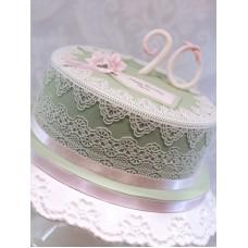 """Торт """"Кружевной шедевр"""""""