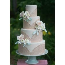 """Свадебный торт """"Барокко"""""""