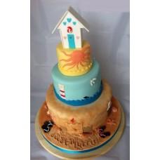 """Торт """"Пляж"""""""