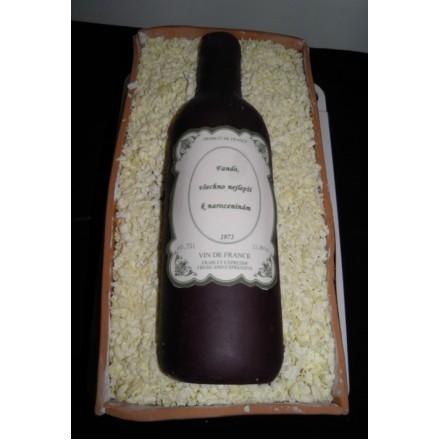 """Корпоративный торт  """"Коллекционное вино"""""""