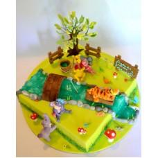 """Детский торт """"Винни пух №4"""""""