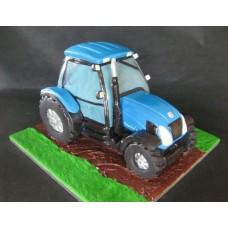 """Торт """"Синий трактор"""""""