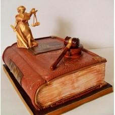 "Торт ""Судья. Час суда"""