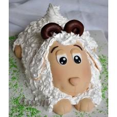 """Новогодний торт на заказ """"Петушок"""""""