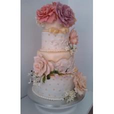 "Торт ""Бутоны роз"""