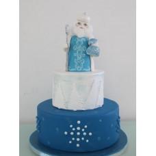 """Новогодний торт """"Русский Дед Мороз"""""""