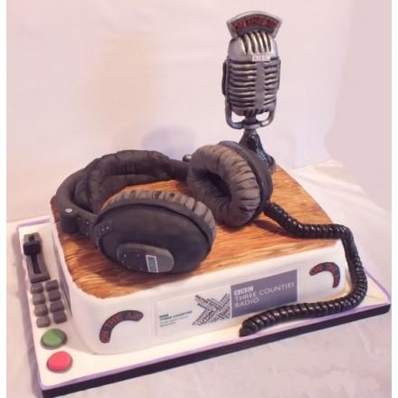 """Торт """"Радиоведущий"""""""