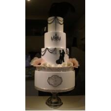 """Свадебный торт """"Миссис и Мистер"""""""