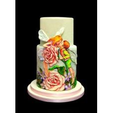 "Торт на День Святого Валентина ""Феи и чувства"""