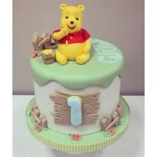 """Детский торт """"Винни Пуху 1 годик!"""""""