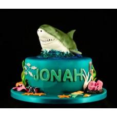 """Детский торт """"Акула"""""""