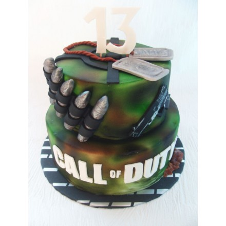 "Торт ""Военный арсенал"""