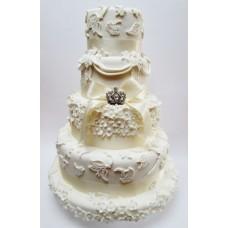"""Свадебный торт """"Принц и принцесса"""""""