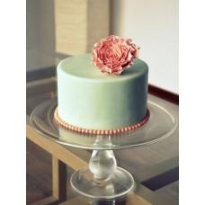 """Торт """"Изящный персиковый цветок"""""""