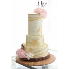 """Свадебный торт """"Розовые пионы"""""""