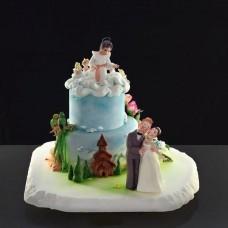 """Свадебный торт """"Благословение небес"""""""