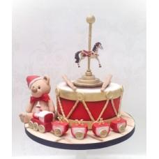 """Новогодний торт 2019 """"Карусель! Карусель!"""""""
