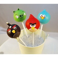 "Cake Pops ""Angry Birds"""