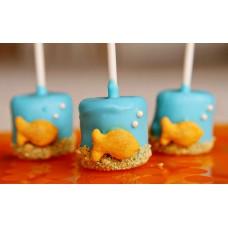"Cake Pops ""Золотые рыбки"""