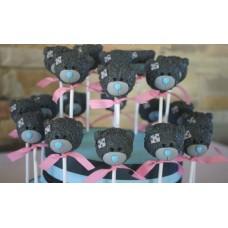 "Cake Pops ""Мишки Тедди с бантиком"""