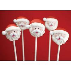 "Новогодние Cake Pops ""Дед Мороз"""