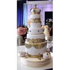 """Свадебный торт """"Царский"""""""