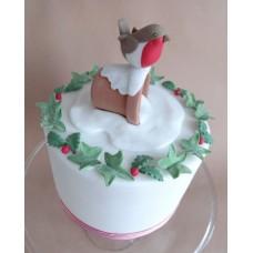 """Новогодний торт """"Снегирь"""""""