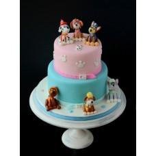 """Детский торт """"Герои. Щенячий патруль"""""""