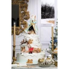 "Новогодний торт ""Рождество в Скандинавии"""