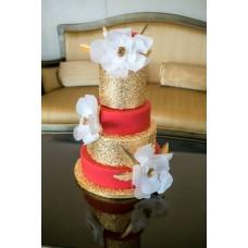 """Торт """"Белые пышные цветы"""""""