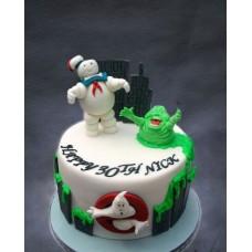 """Детский торт """"Охотники за привидениями"""""""