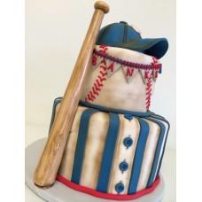 "Детский торт ""Бейсбол"""