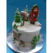"""Новогодний торт """"Новогоднее письмо"""""""